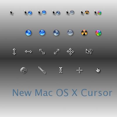 New Mac OS X Cursor by mercury21