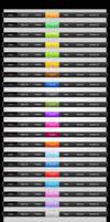 Free Colored Web Menus