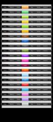 Free Colored Web Menus by MosheSeldin