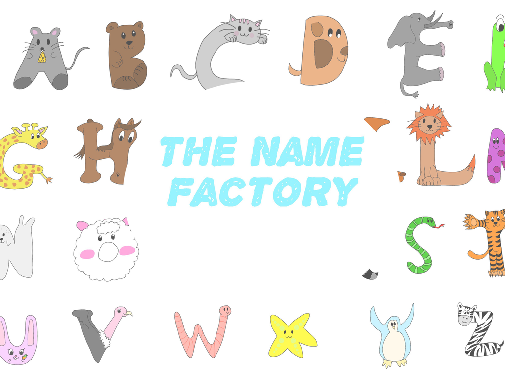 The Name Factory (children's book) by nerdermily