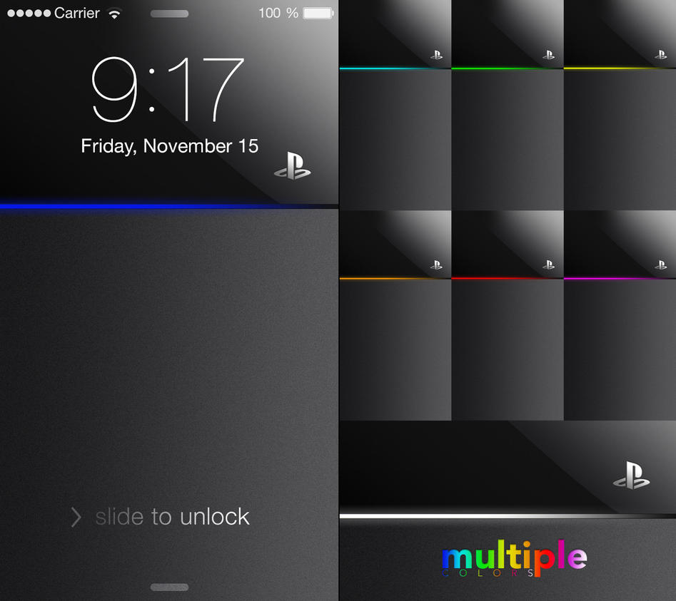 PS4 Wallpapers For Iphone 5 By Noomx