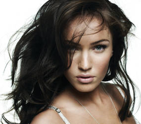 My First Retouch - Megan Fox