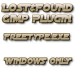 Lost+Found Gimp Freetype