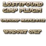 Lost+Found Gimp UnsharpMask2