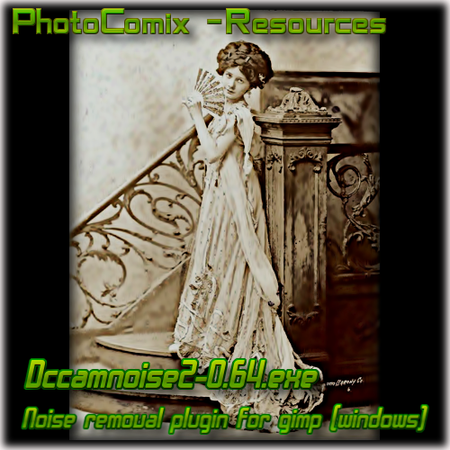 DCamnoise-2 for Gimp -windows by photocomix-resources