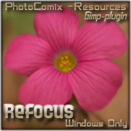 Refocus plugin- windows OS by photocomix-resources