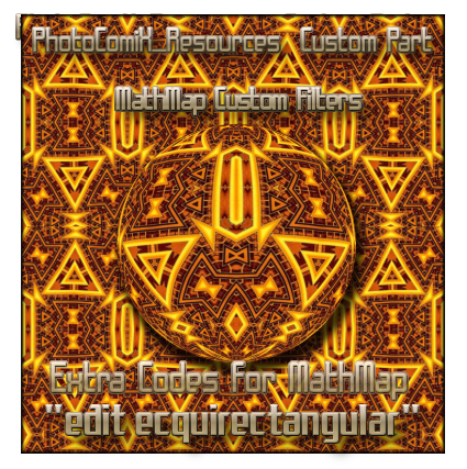 MathMap custom script 2:1 by photocomix-resources