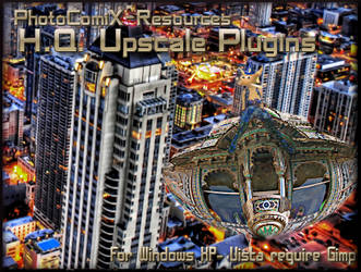 HQ rescale Plugin for Gimp by photocomix-resources