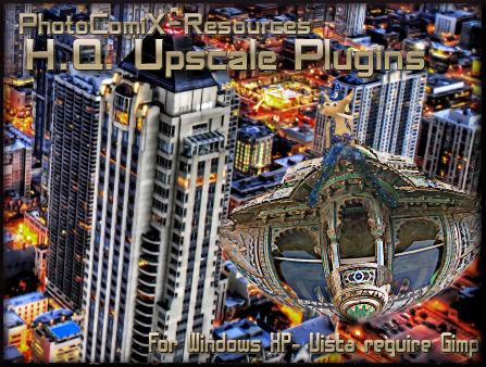 HQ rescale Plugin for Gimp