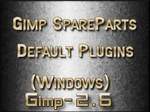 Gimp2.6 Default plugins win
