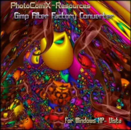 Gimp Filter Factory Converter by photocomix-resources