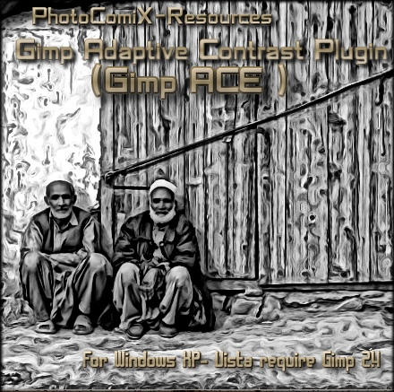 Gimp Adaptive Equalization by photocomix-resources
