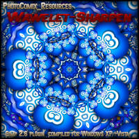 GIMP Wavelet-Sharpen-0.1.1 by photocomix-resources