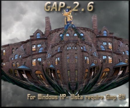 GAP-2.6 for Gimp 2.6-Windows