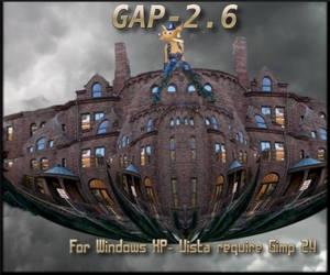 GAP-2.6 for Gimp 2.6-Windows