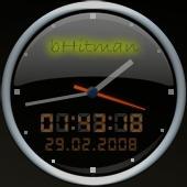 bHitman Big Clock Glas by BHitman