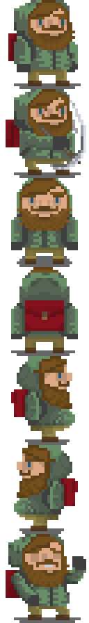 Character animations (First batch)