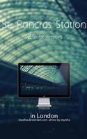 St. Pancras Station by skyofca