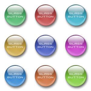 Cool Glass Buttons by Visor by visorek