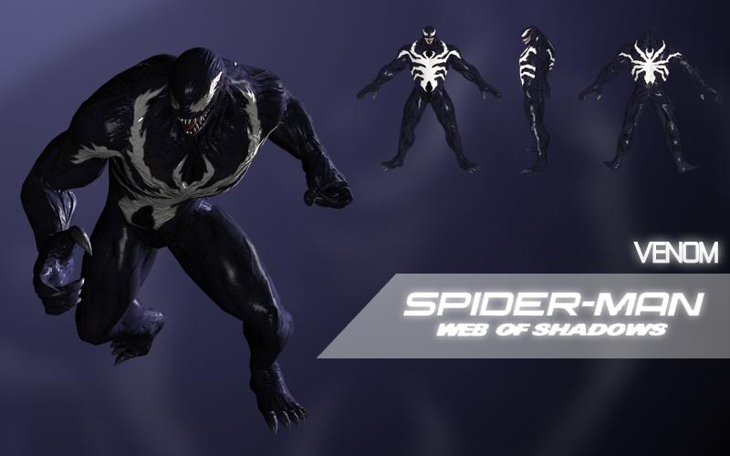 Venom (Spider-Man: Web of Shadows) by Citrus07 on DeviantArt