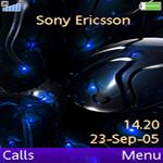 Sony Ericsson W580i Blue Theme by IiTz-ShAnE
