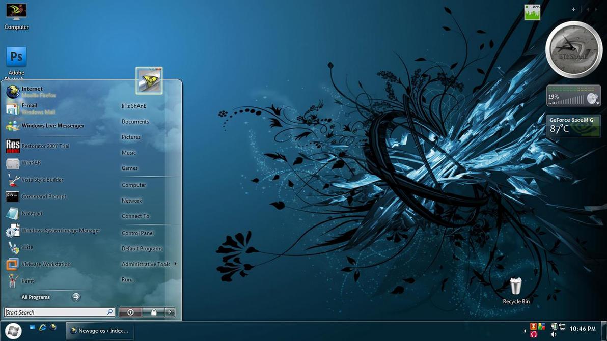 Aero Blue For Vista by IiTz-ShAnE
