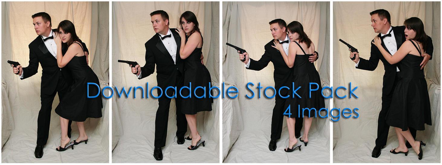 Bond: SavingGirl DL Pack by Della-Stock