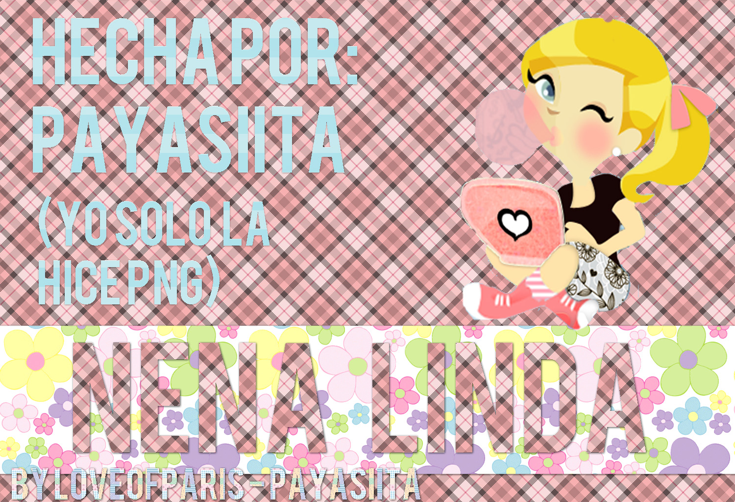 Nena Linda PNG~ by LoveOfParis