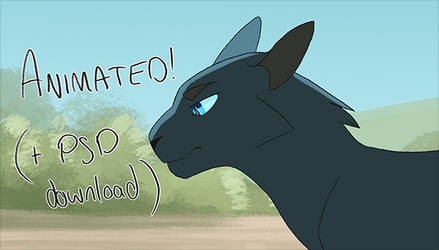 Somebody to Love animation (+ PSD download) by Finchwing