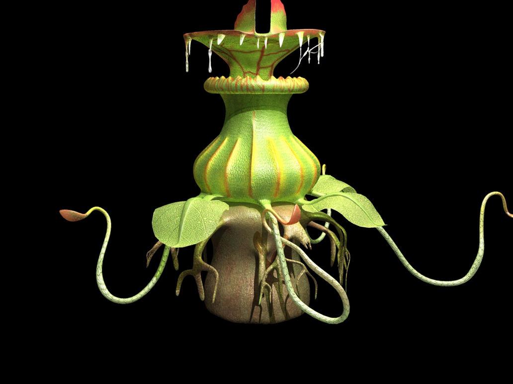 Carnivorous plant by Oskar-A