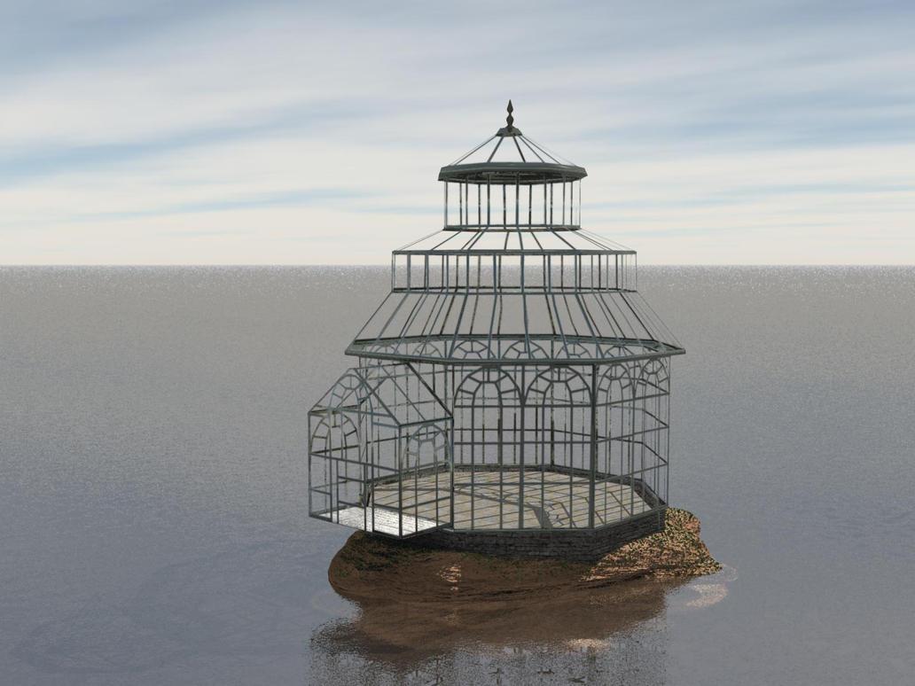 Greenhouse WIP by Oskar-A