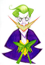 Joker_ColouredPencil by Kenilem