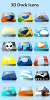 3D Dock Icons