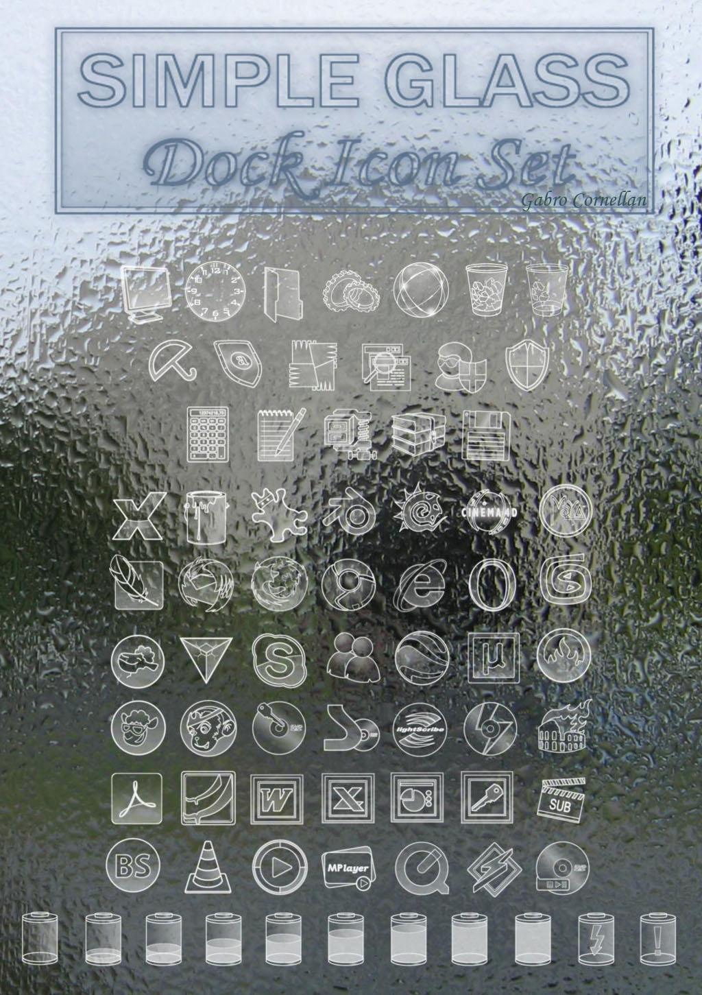 Simple glass -but no glossy by gabro-cornellan