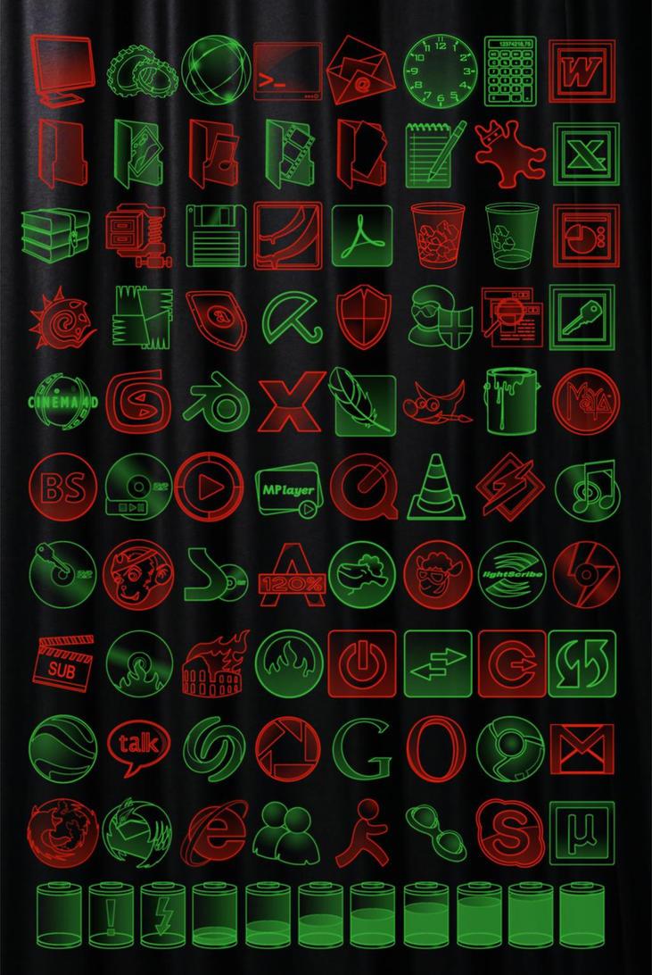 Some neon color dock icon by gabro-cornellan