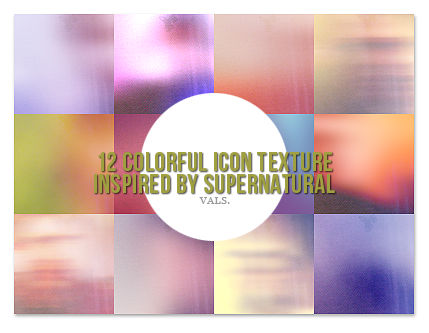 12 icon texture inspired by Supernatural