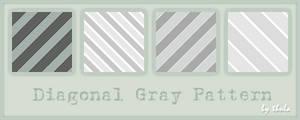 Diagonal Gray Pattern