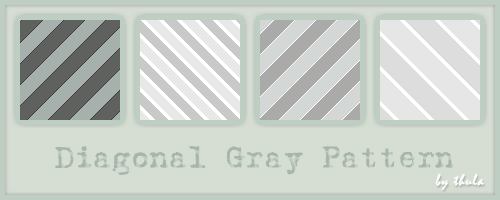 Diagonal Gray Pattern by ThulaMarquise