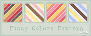 Funny Colors Pattern