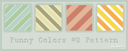 Funny Colors vol.2 Pattern by ThulaMarquise