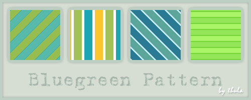 Bluegreen Pattern by ThulaMarquise