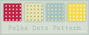 Polka Dots Pattern by ThulaMarquise