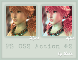 Photoshop CS2 Action 02 by ThulaMarquise