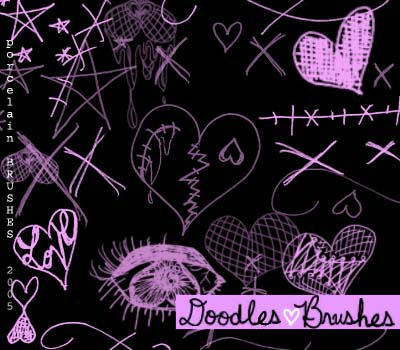 .:doodles:. by porcelainBRUSHES