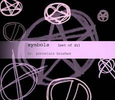 .:symbols:. by porcelainBRUSHES