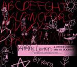 .:CreepyLittleKid LettersETC:.