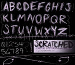 .:SCRATCHED letters,etc.:.