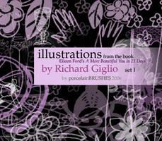 .:ILLUSTRATIONS set I:. by porcelainBRUSHES