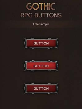 Gothic RPG Button Sample