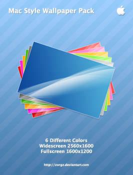 Mac Style Wallpaper Pack